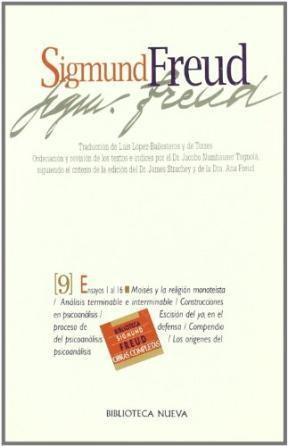 Papel Obras Completas Freud 9