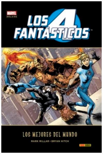 Comic Los 4 Fantásticos: Los Mejores Del Mundo (Marvel Deluxe)