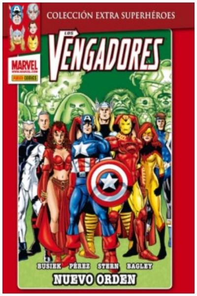 Comic Los Vengadores Nº 03: Nuevo Orden (Col. Extra Superhéroes)