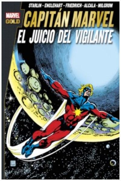 Comic Capitan Marvel: El Juicio Del Vigilante  (Marvel Gold)
