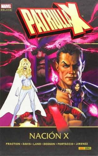 Comic Patrulla-X: Nación X (Marvel Deluxe)