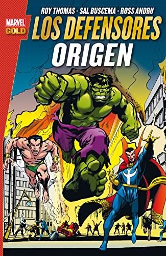 Comic Los Defensores: Origen (Marvel Gold)