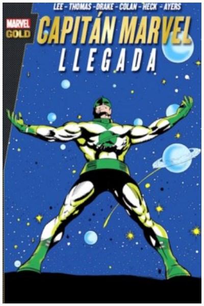 Comic Capitan Marvel: Llegada (Marvel Gold)
