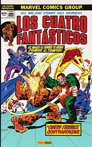 Comic Los 4 Fantasticos 07. Los 4 Terribles Contraatacan (Marvel Gold)