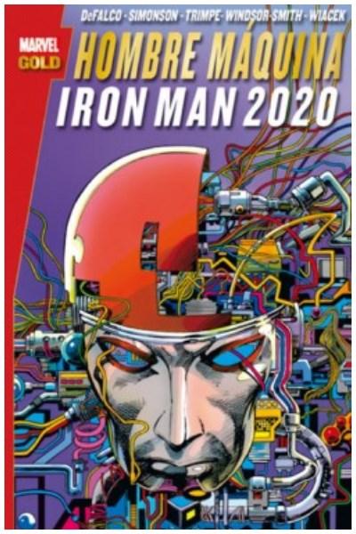 Comic Hombre Maquina / Iron Man 2020 (Marvel Gold)