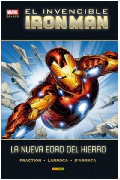 Comic Invencible Iron Man 05. La Nueva Edad Del Hierro (Marvel Deluxe)