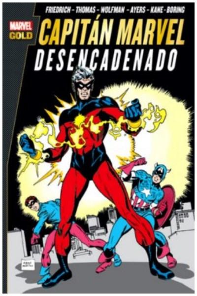 Comic Capitán Marvel: Desencadenado (Marvel Gold)