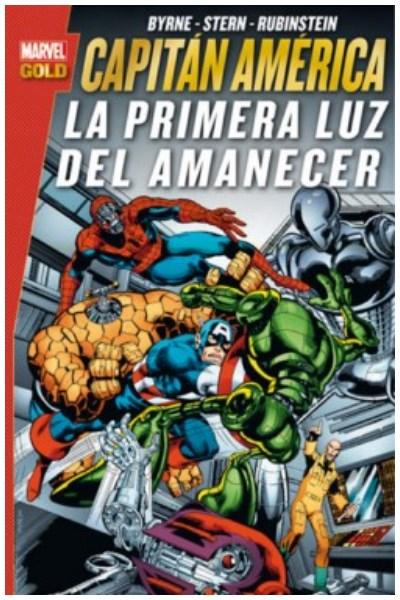 Comic Capitán América: La Primera Luz Del Amanecer (Marvel Gold)