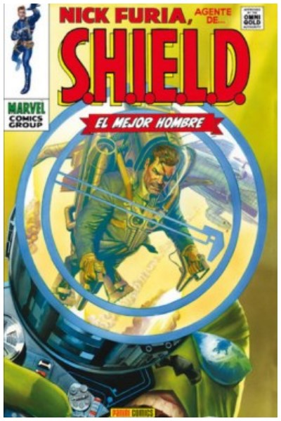 Comic Nick Furia: Agente De Shield. El Mejor Hombre (Marvel Gold)