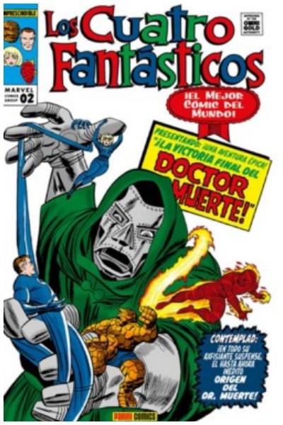 Comic Los 4 Fantasticos 02. La Batalla Por El Edificio Baxter(Marvel Gold)