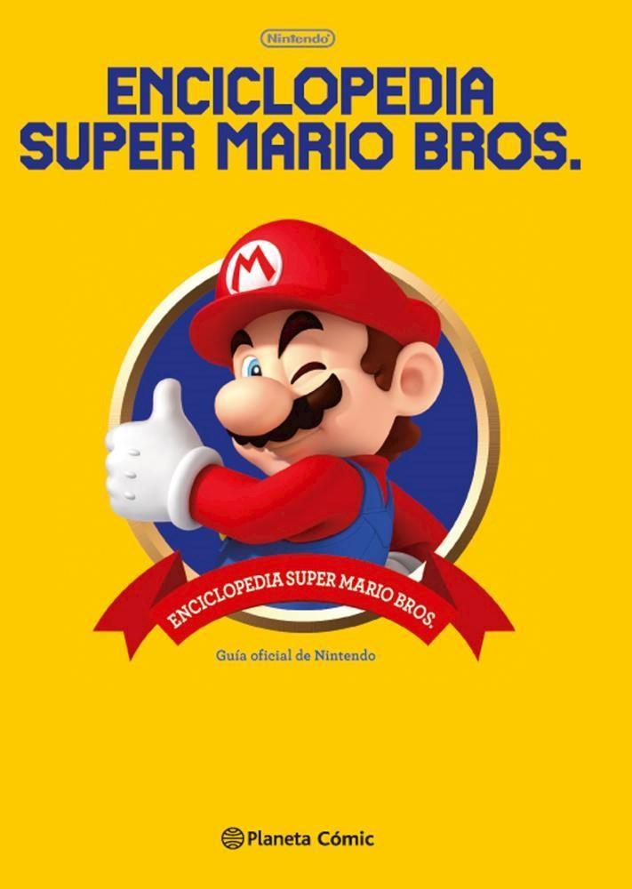 Libro Enciclopedia Super Mario Bros 30ª Aniversario