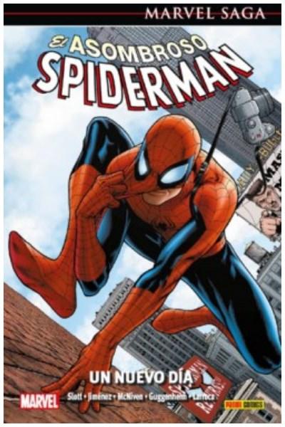 Comic Asombroso Spiderman 14: Un Nuevo Dia (Marvel Saga)