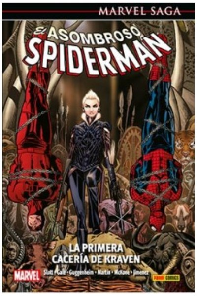 Comic Asombroso Spiderman 16: La Primera Cacería De Kraven (Marvel Saga)