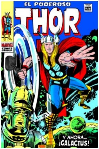 Comic El Poderoso Thor 03: Y Ahora... ¡Galactus! (Marvel Gold)