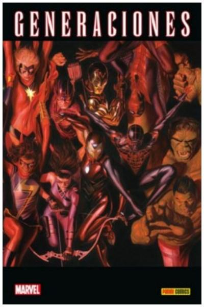 Comic Marvel Legacy: Generaciones