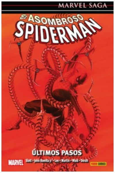 Comic Asombroso Spiderman 23: Últimos Pasos (Marvel Saga)