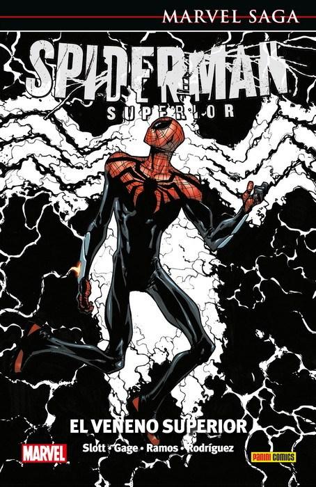 Comic Marvel Saga El Asombroso Spiderman 43. El Veneno Superior  Marvel Saga