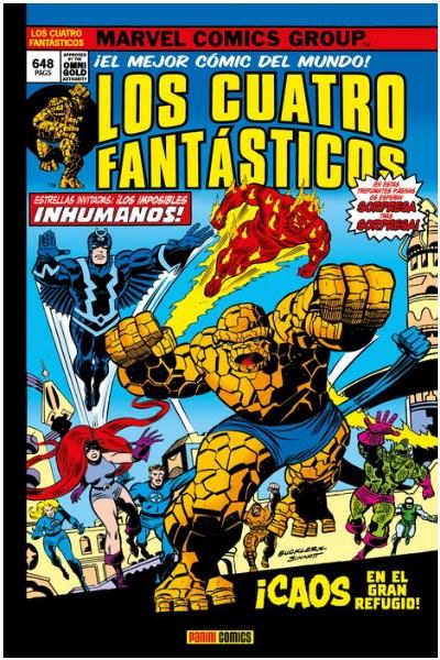 Comic Los 4 Fantasticos 08. ¡Caos En El Gran Refugio!