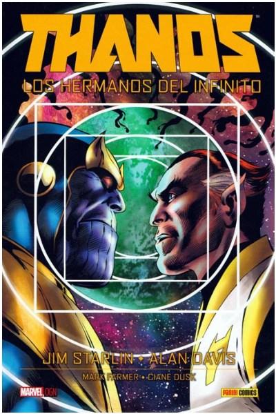 Comic Thanos: Los Hermanos Del Infinito (Marvel Graphic Novels)