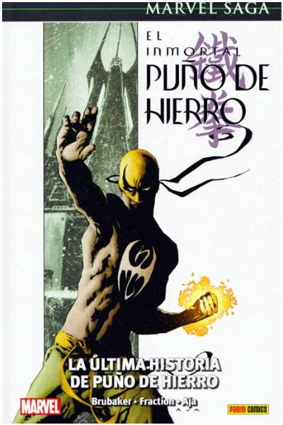 Comic El Inmortal Puño De Hierro 01. La Ultima Historia De Puño De Hierro  (Marvel Sag