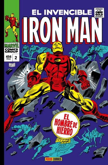 Comic Marvel Gold Iron Man 2. ¡Por La Fuerza De Las Armas!  Marvel Gold Omnibus
