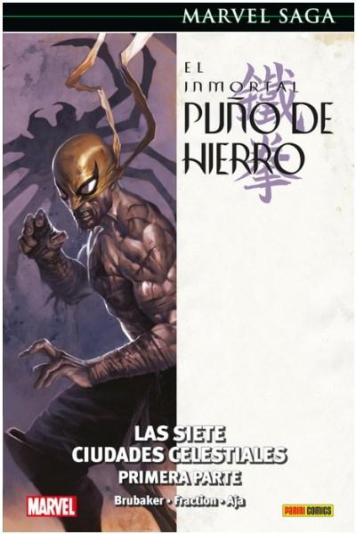 Comic El Inmortal Puño De Hierro 02. Las Siete Ciudades Celestiales  (Marvel Saga 66)