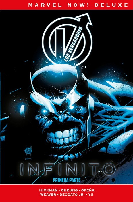 Comic Marvel Now! Deluxe Los Vengadores De Jonathan Hickman 3. Inf Marvel Now! Deluxe