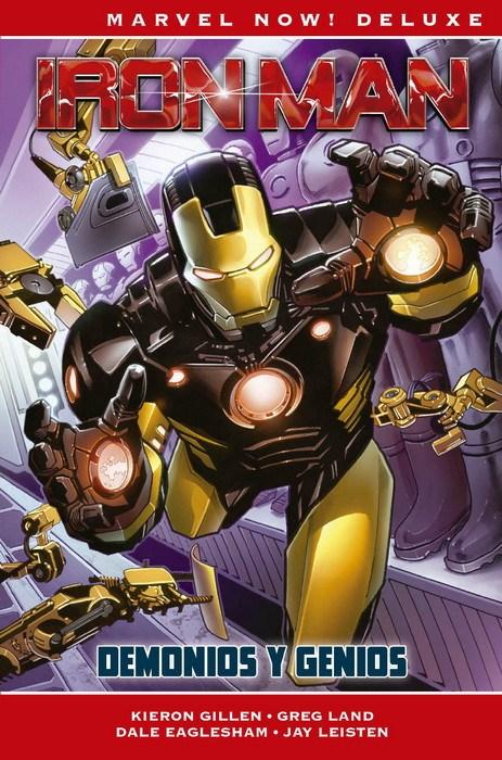 Comic Marvel Now! Deluxe Iron Man De Kieron Gillen 1  Marvel Now! Deluxe