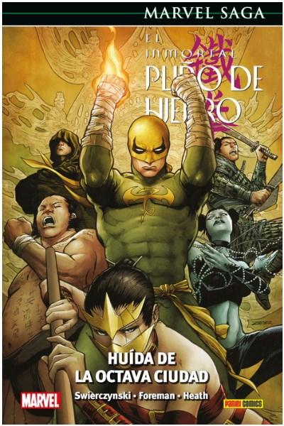 Comic El Inmortal Puño De Hierro 05. Huida De La Octava Ciudad(Marvel Saga 78)