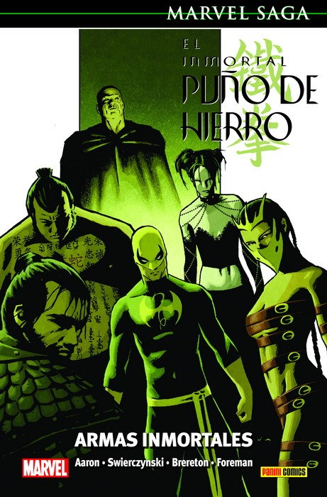 Comic Marvel Saga El Inmortal Puño De Hierro 6. Armas Inmortales  Marvel Saga