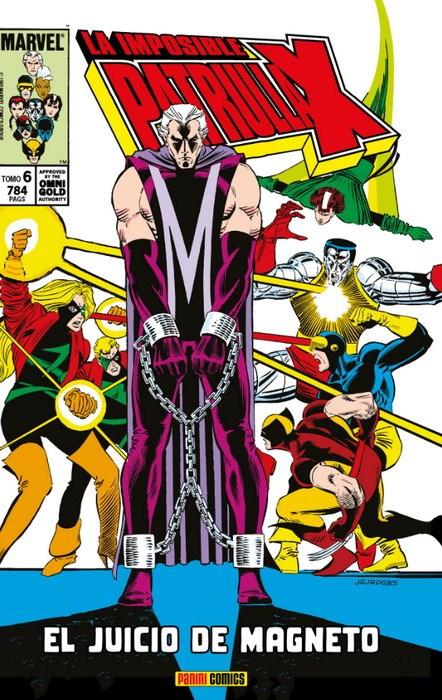 Comic La Imposible Patrulla-X 6. El Juicio De Magneto