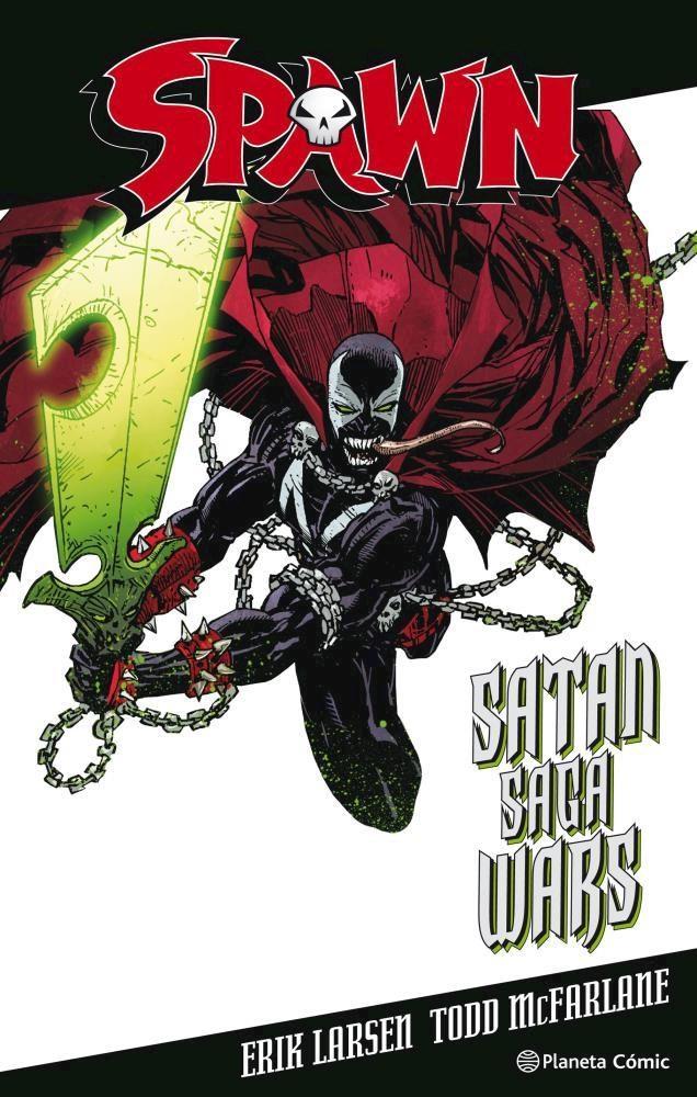 Comic Spawn Satán Saga Wars