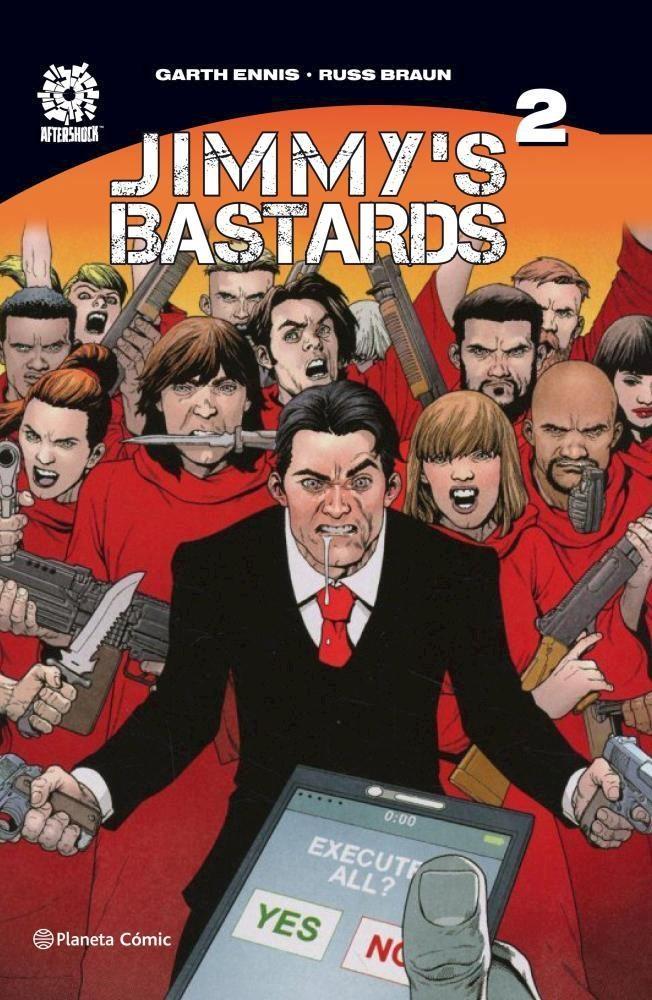 Comic Jimmy'S Bastards Nº 02