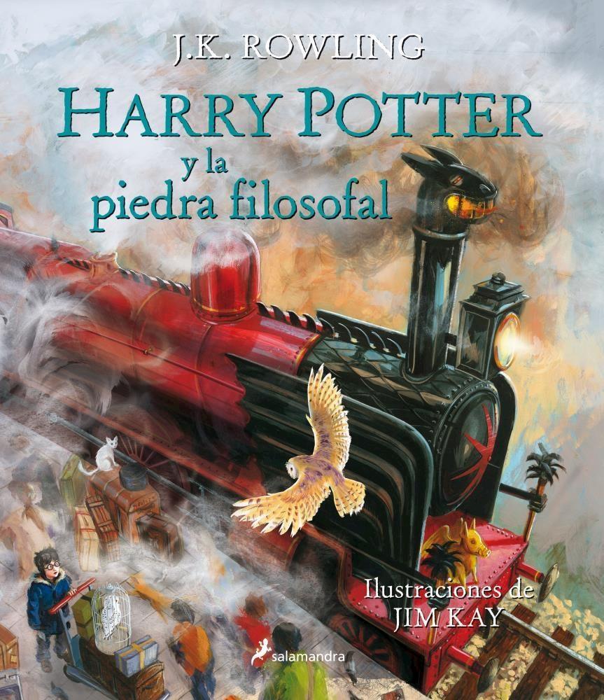Papel Harry Potter 1 - Y La Piedra Filosofal (Tapa Dura) Ed. Ilustrada