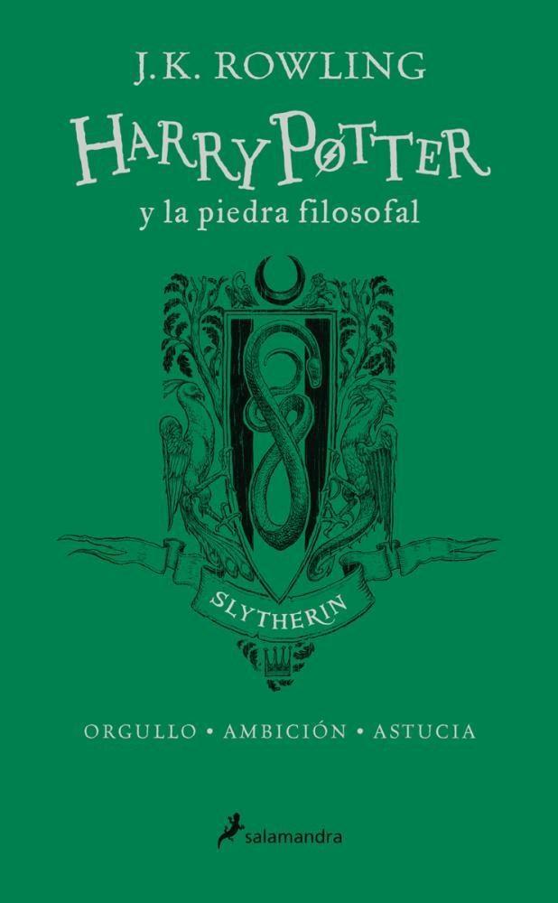 Papel Harry Potter 1 - Y La Piedra Filosofal (Slytherin)