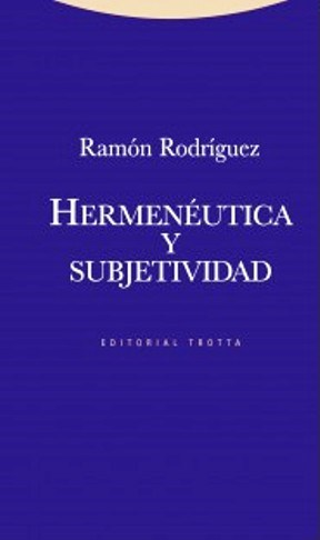 Papel Hermeneutica Y Subjetividad