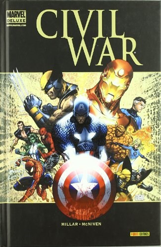 Comic Civil War (Marvel Deluxe)