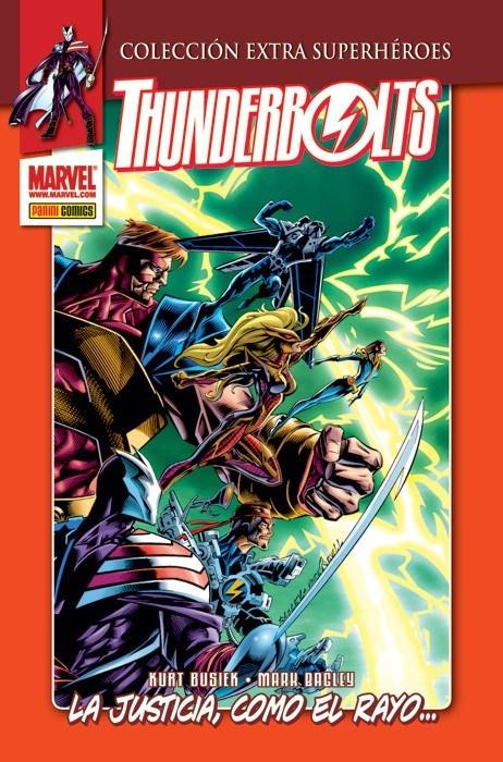 Comic Lote Completo Thunderbolts Vol. 1 (6 Tomos Colección Extra Superhéroes)