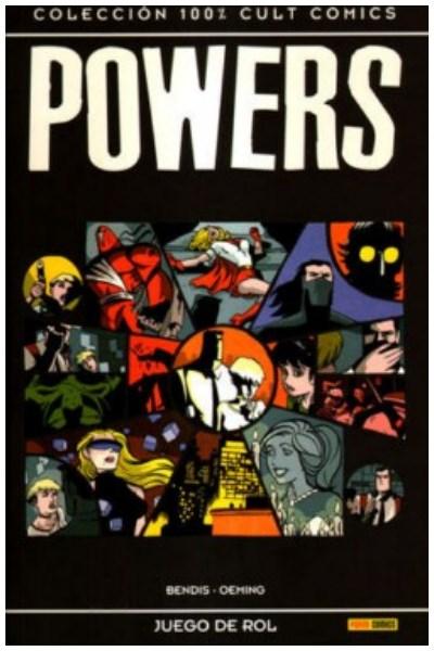 Comic Powers Nº 02: Juego De Rol (Col. 100% Cult Comics)