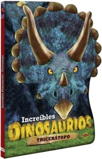 Papel Triceratopo. Increibles Dinos