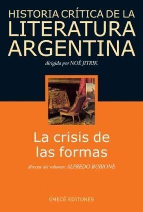 Papel Historia Critica De La Literatura Argentina T.5 Crisis De La