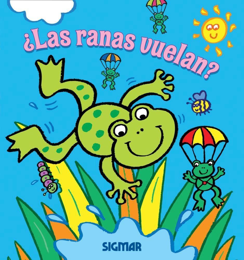 Papel Las Ranas Vuelan?