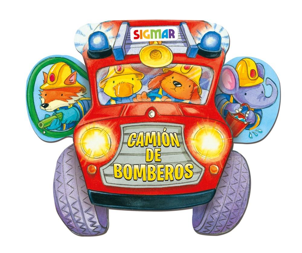 Papel Camion De Bomberos - Col Sobre Ruedas