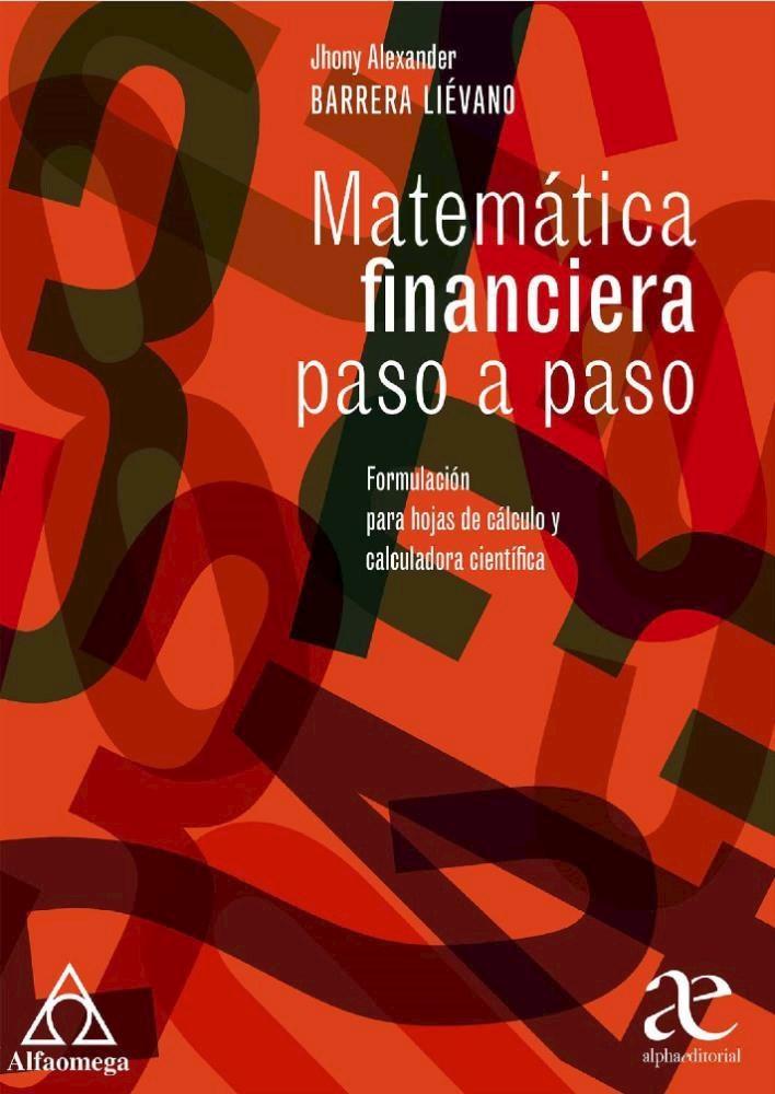 Papel Matemática Financiera Paso A Paso
