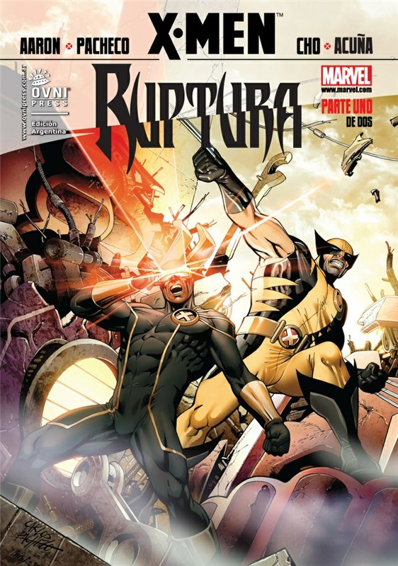 Comic X-Men 06 Ruptura 01