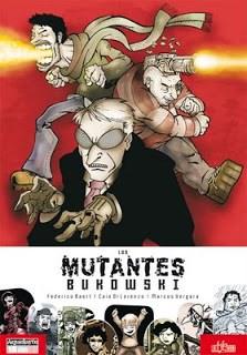 Comic Los Mutantes Bukowski
