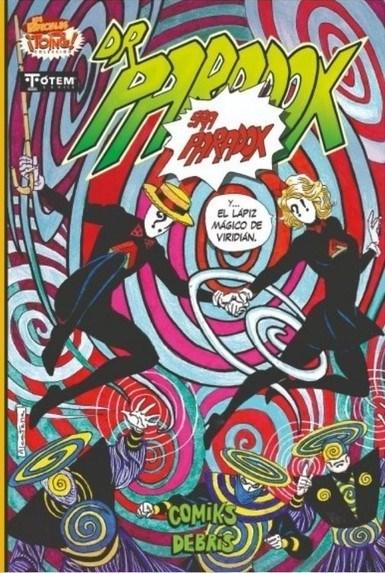 Comic Dr. Paradox: Sra Paradox Y El Lápiz Mágico De Viridián