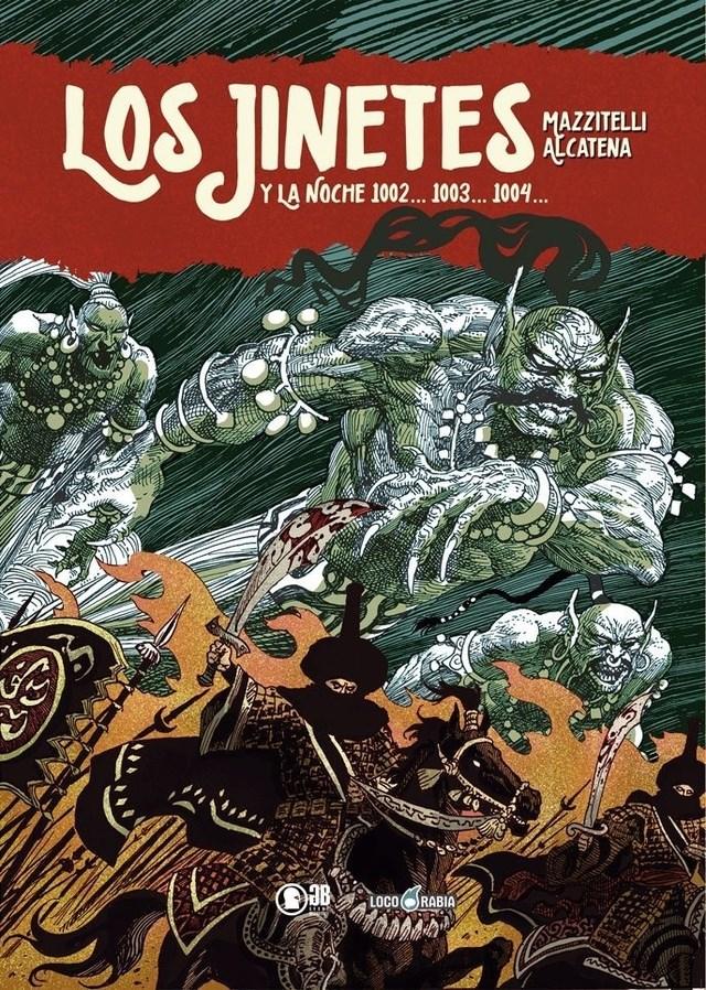 Comic Los Jinetes Y La Noche 1002... 1003... 1004...