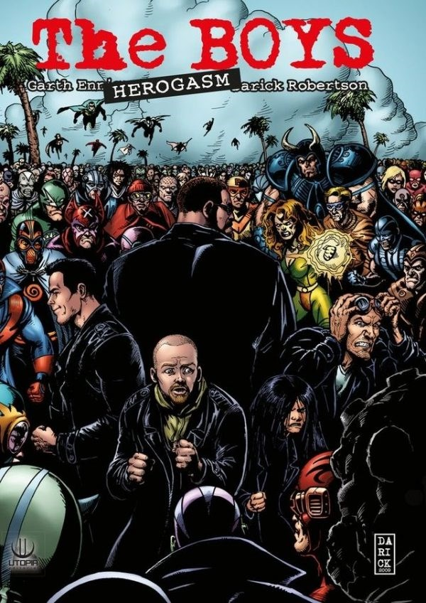Comic Jupiter Legacy - Libro 01: Un Nuevo Orden