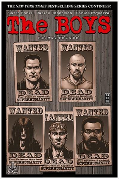 Comic The Boys 06: Los Mas Buscados